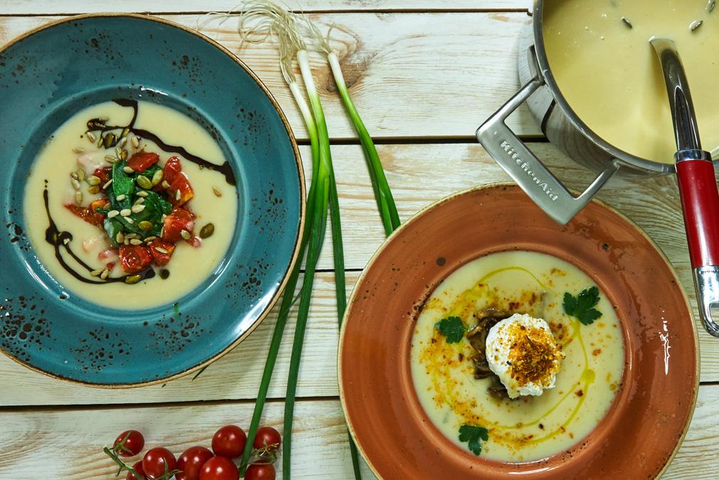 Суп из корня сельдерея